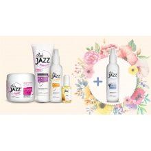 HAIR JAZZ šampūns, losjons, maska, serum + Dāvana Heat Protector!