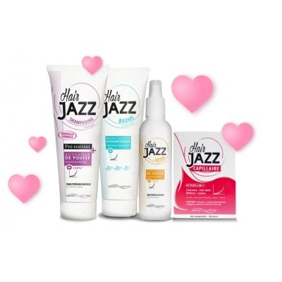 HAIRJAZZ Hialuronskābes kondicionieris un šampūns + losjons+ vitamini