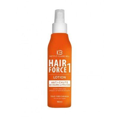 Hair Force One losjons. Lielisks risinājums matu izkrišanas apturēšanai.