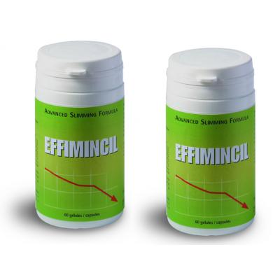 2 x Effimincil. Palīdzība vielmaiņas aktivizēšanai un tievēšanai